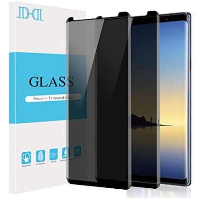 UV Privacy Anti-Spy Anti-Peep NANO Liquid Full Glue Tempered Glass For Samsung Note 9 Note 8 image 2