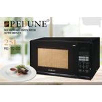 Rebune Microwave Oven, 25L/800W - Black image 2