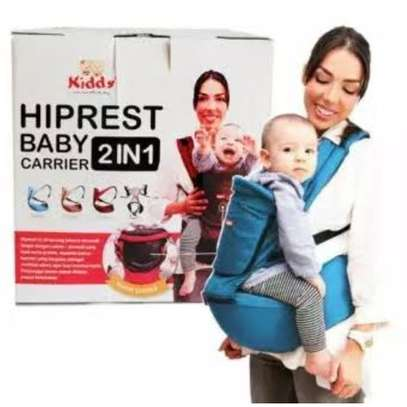 Superior Breathable Hipseat Baby Carrier - Blue (upto 18kgs)