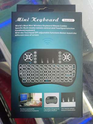 Mini Keyboard Backlit for Smart TV with dongle