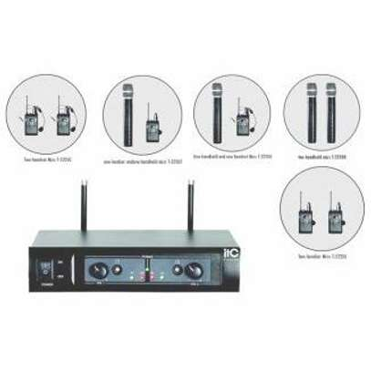 2 Channel UHF Wireless Microphone image 2