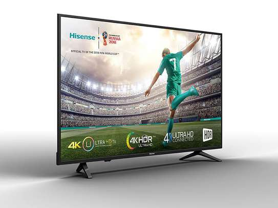 Hisense 55 Inch A6100 4K Ultra HD Smart TV with built-in WIFI