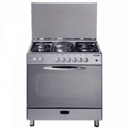 4 GAS+2 ELECTRIC STAINLESS STEEL ELBA COOKER image 1
