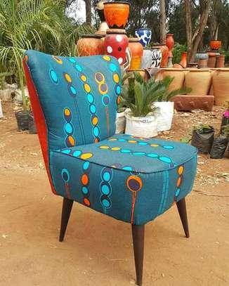 Kitenge Cocktail chairs image 4