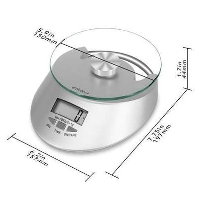 5Kg Kitchen Digital Scale - Food Weighing scale image 3