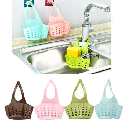 Kitchen Sponge Holder Sink Caddy Organizer Soap Storage Basket