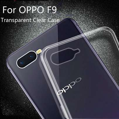 Clear TPU Soft Transparent case for Oppo F9 F9 Pro image 4