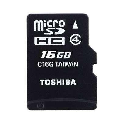 Toshiba Micro SD Memory Card - M102 - 16GB - Black image 2