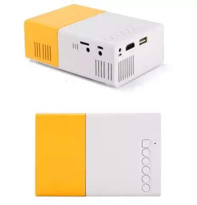 LEJIADA YG300 Pro LED Mini Projector image 3