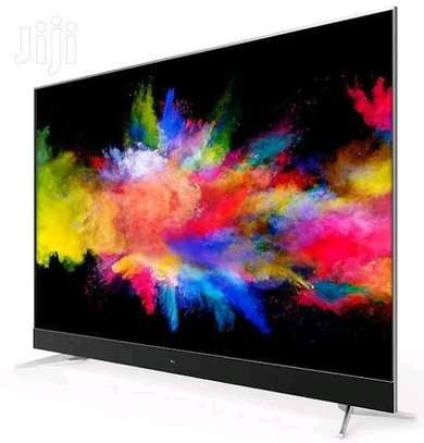TCL 55 C8 smart 4K UHD Android TV with Onkyo Soundbar-Frameless image 1