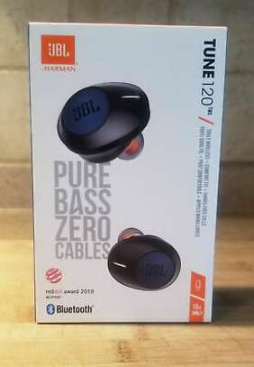 JBL Tune 120TWS True Wireless in Ear Headphones with 16 Hours Playtime, Stereo Calls & Quick Charge image 1