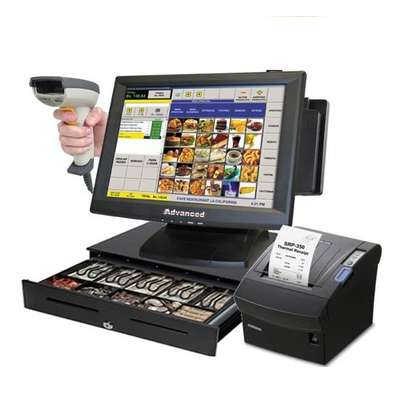 Super Markets & Shops Complete Point Of Sale POS System Kit image 1