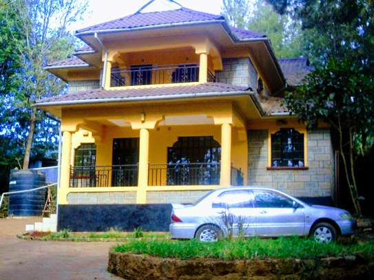 4 bedroom townhouse for rent in Ngong image 1