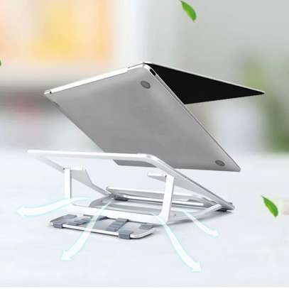 """Aluminum Lapdesks for MacBook Air Pro 11-15 Inch Adjustable Cooling Support Notebook PC Tablet Stand """" image 6"""