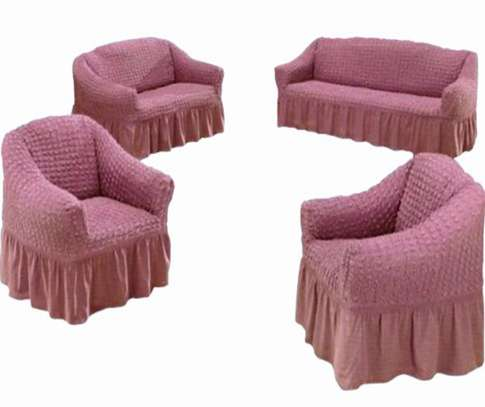 Stretchable Sofa Seat Covers seven seater- 3+2+1+1 (7 seater) image 4