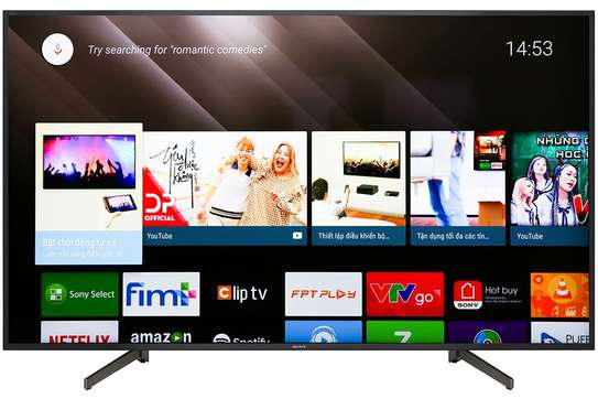 sony 65 smart android digital uhd tv x8000g image 1