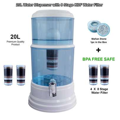 Water Purifier With Dispensing Tap - 20 Litres - White image 3