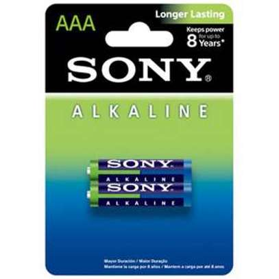 Sony Alkaline 2pc AAAX2 Battery image 1