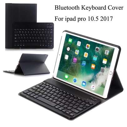 Smart Detachable Wireless bluetooth Keyboard Tablet Case For iPad Pro 10.5 inches image 2