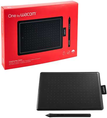ONE BY WACOM DRAWING TABLET FOR WINDOWS PC, MAC, CHROMEBOOK image 1