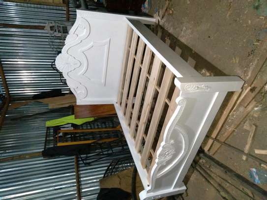 Wooden bed image 1