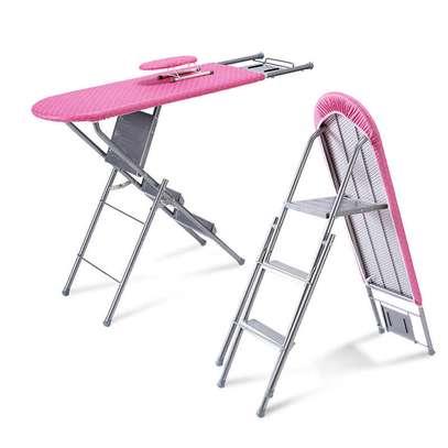 Step Ladder Ironing Board image 1