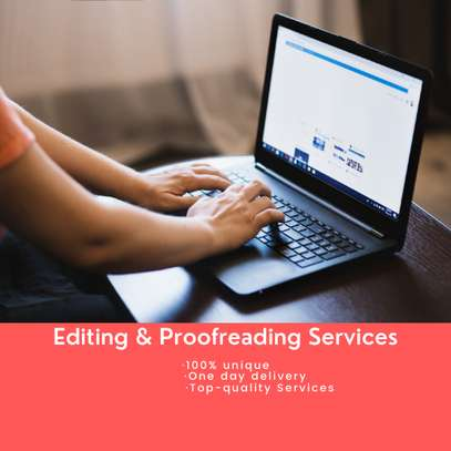 Professional Editing and Proofreading Services image 1
