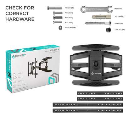 """Full Motion Articulating TV Wall Mount for 40"""" to 70 Inch Flat Screen LED LCD TVs up to 100lbs P6 image 2"""