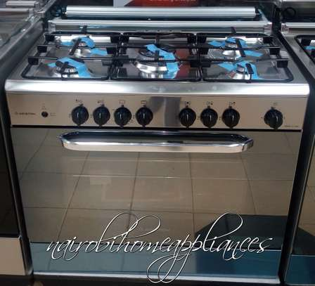 Ariston C081/C08 SG1 X/CN5SG1 (X) EX 5 Gas Professional Cooker - Stainless Steel