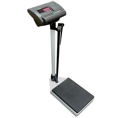 Micro digital Physician scale with height rod image 1