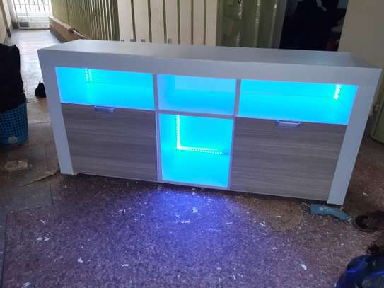 TV stand with LED image 6
