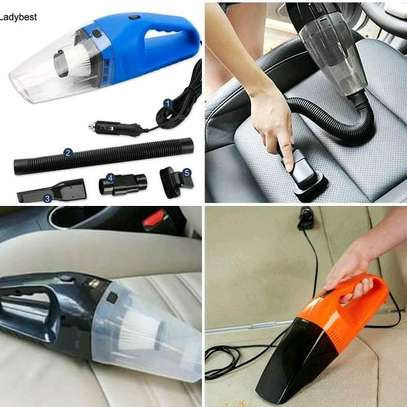 Car vacuum cleaner with filter
