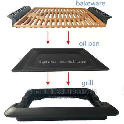 Electric Smokeless Grill image 4