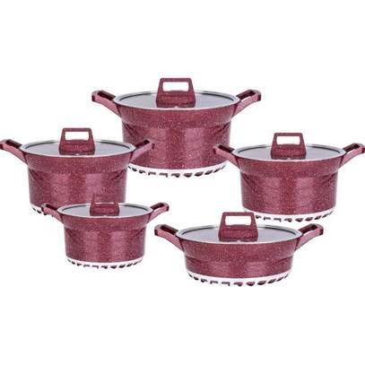 Bosch 10 Pcs Bosch Cookware Set image 1
