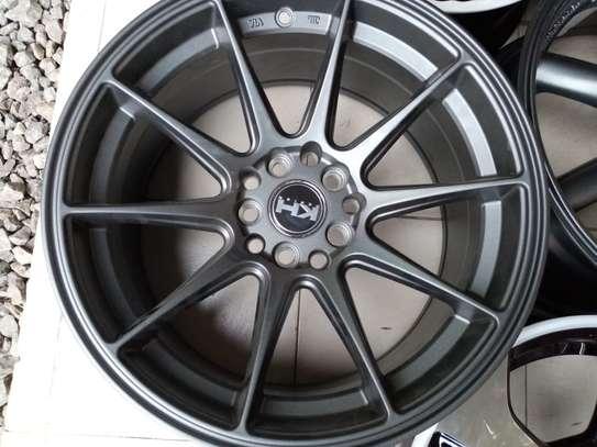 Size 16 Subaru rims image 1