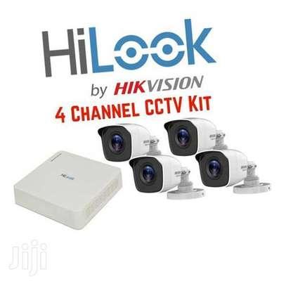 4 CCTV Camera Full Kit 720Pixel ( Ultra HD Images & Night Vision) image 2