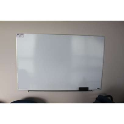 4 by 3ft Dry Erase Whiteboard   Wall Mount image 1