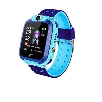 Kids GPS Intelligent Smart Watch - Blue image 1