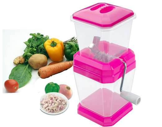 Onion Chilly Cutter Vegetable Chopper Grater image 2