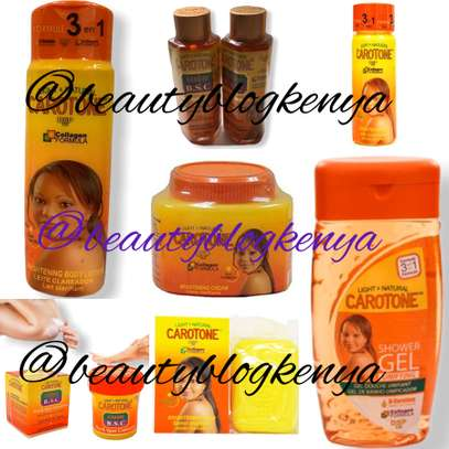 Carotone Shower gel Soap Cream Lotion Serum Oil in Kenya