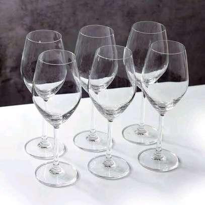 Wine Glasses set of 6 image 1