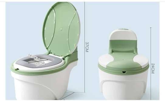 Children Simulation Toilet Infant Pony Bucket Potty Seat with Removable Inner Bucket image 6