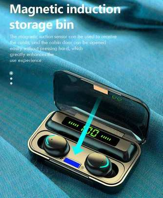 Waterproof Wireless Earbuds With Charging Case for Phones image 4