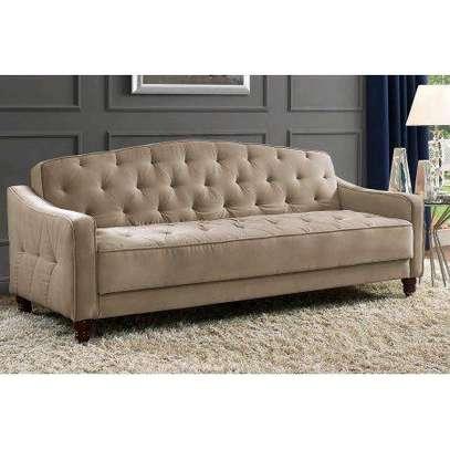 Modern three seater brown chesterfield sofas for sale in Nairobi Kenya/Sofa prices in Nairobi/Quality sofas/Latest sofa set designs image 1