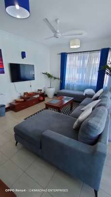 Furnished 2 bedroom apartment for rent in Mkomani image 1