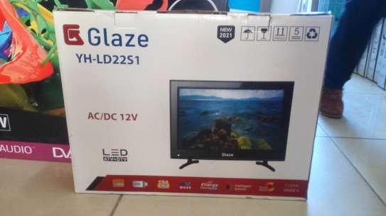 glaze 22 inch ac/dc digital tv image 1