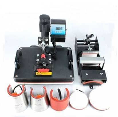 8 in 1 Combo Heat Press Machine image 1