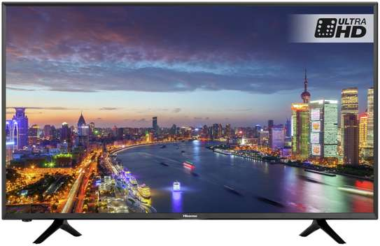 HISENSE 55 INCH SMART 4K ULTRA HD ANDROID TV image 1