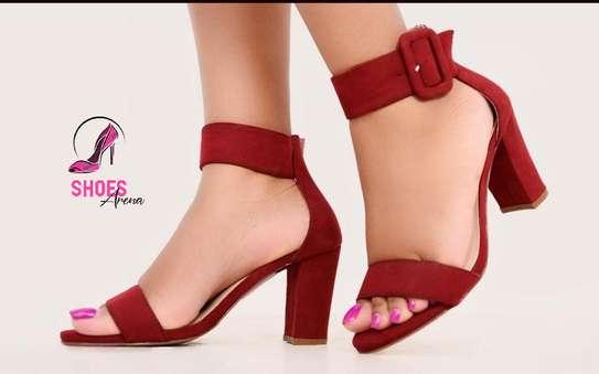 Low chunky heels image 5
