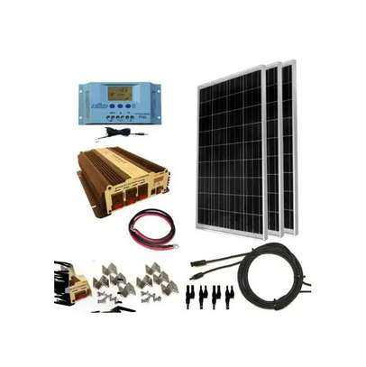 300 Watts Solar Panel Complete Power And Lighting image 1